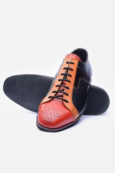 Footprint - Orange Casual Brogue