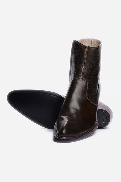 Footprint - 	Brown Formal Leather Boots
