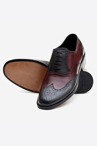 Footprint - Brown Black Formal Leather Brogue