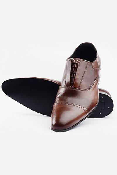 Footprint - Brown Formal Leather Lace Up