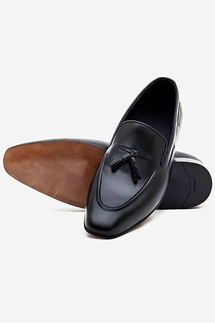 Picture of Brighton Black Tasseled Loafers