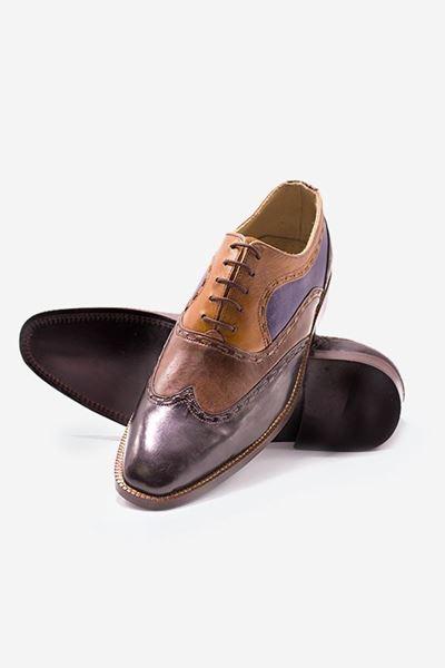 Footprint - Brown Formal Leather Brogue