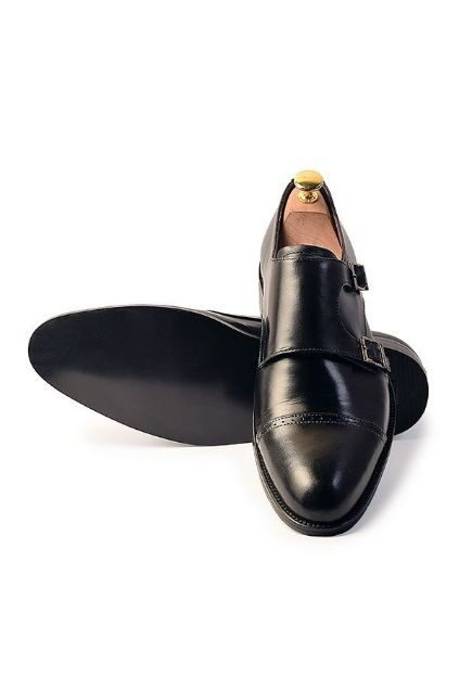 Picture of Dual Buckles Cap-Toes